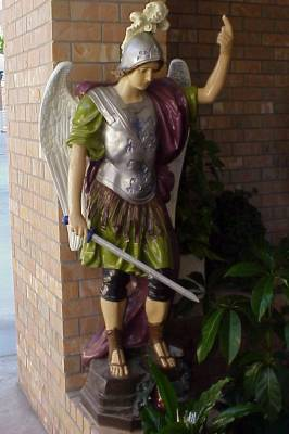 Michael the Archangel in the Marian Grotto