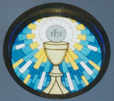 Most Blessed Sacrament Rosette